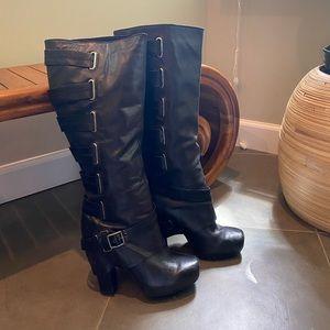 Tall Black boots, 9.5
